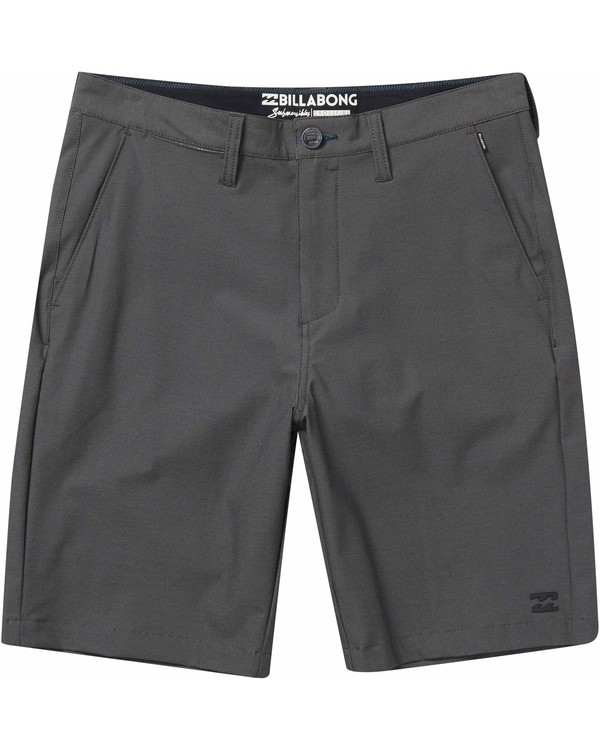 0 Crossfire X Twill Submersibles Shorts Black M204NBCT Billabong