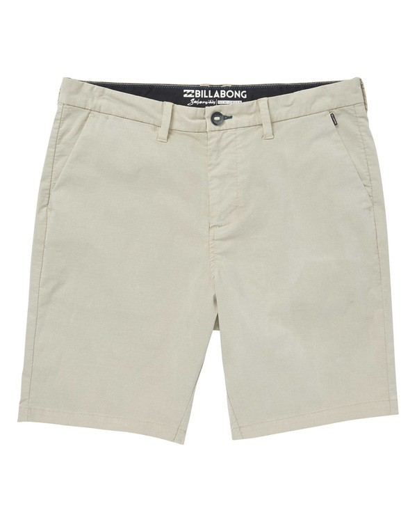 0 New Order X Overdye Shorts Beige M207TBNO Billabong