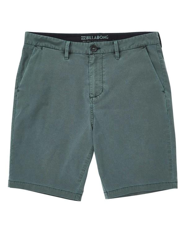 0 New Order X Overdye Shorts Green M207TBNO Billabong