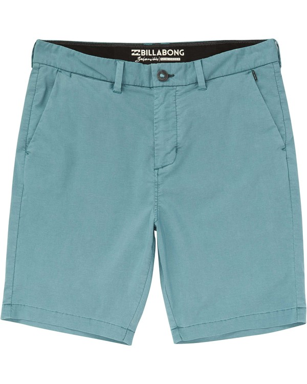 0 New Order X Overdye Submersibles Shorts Grey M209NBNO Billabong