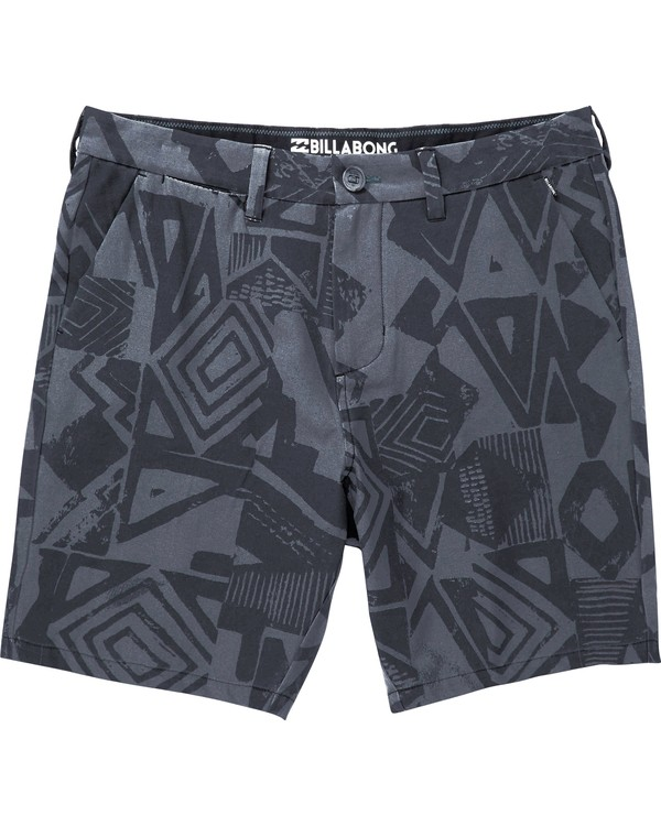 0 New Order X Sundays Submersibles Shorts Black M213NBNS Billabong