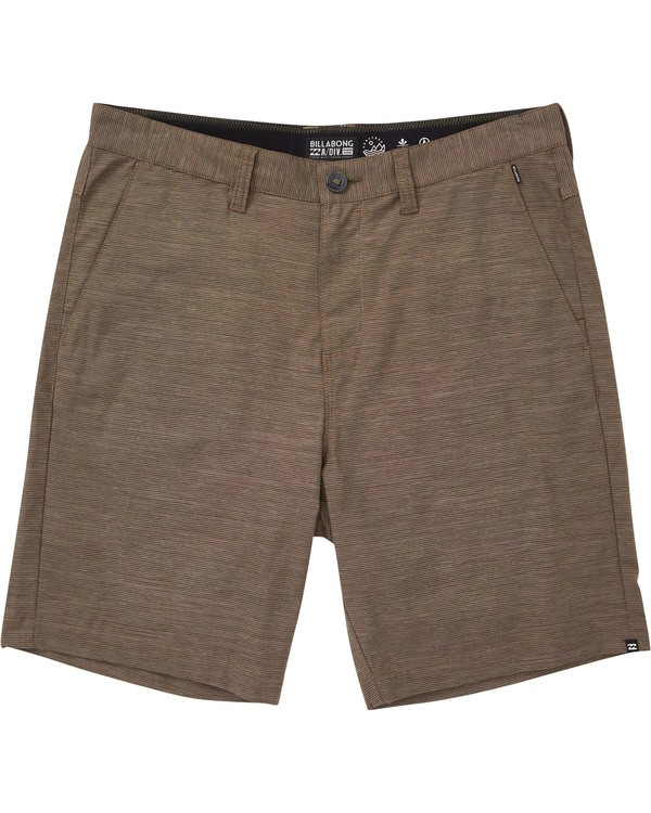 0 Surftrek Spacedye Shorts Brown M217TBSS Billabong