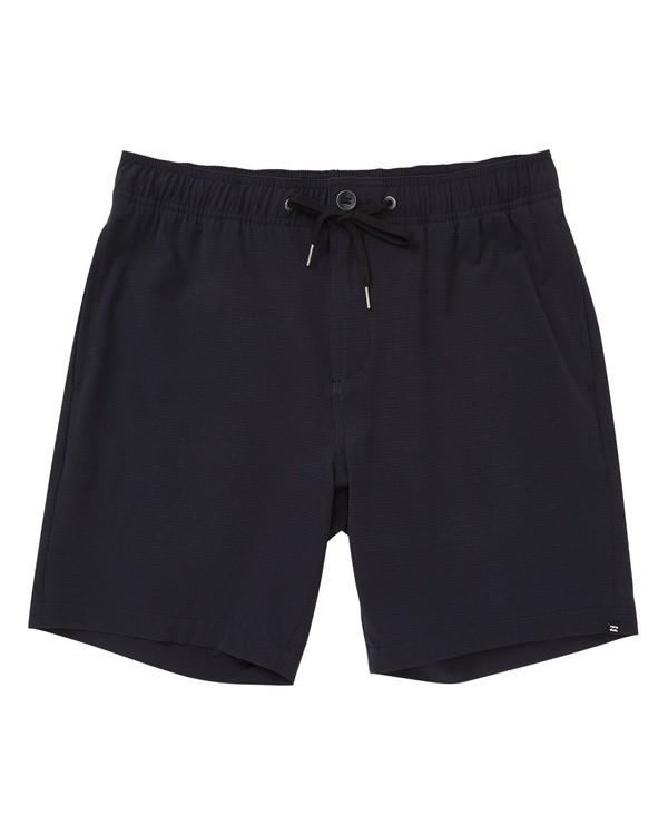 0 Surftrek Perf Elastic Shorts Black M219TBSP Billabong
