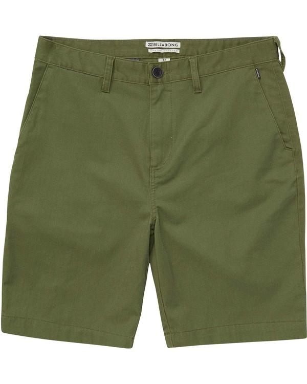 0 Carter Stretch Shorts Green M231NBCS Billabong