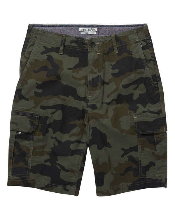 0 Scheme Shorts Camo M236NBSC Billabong
