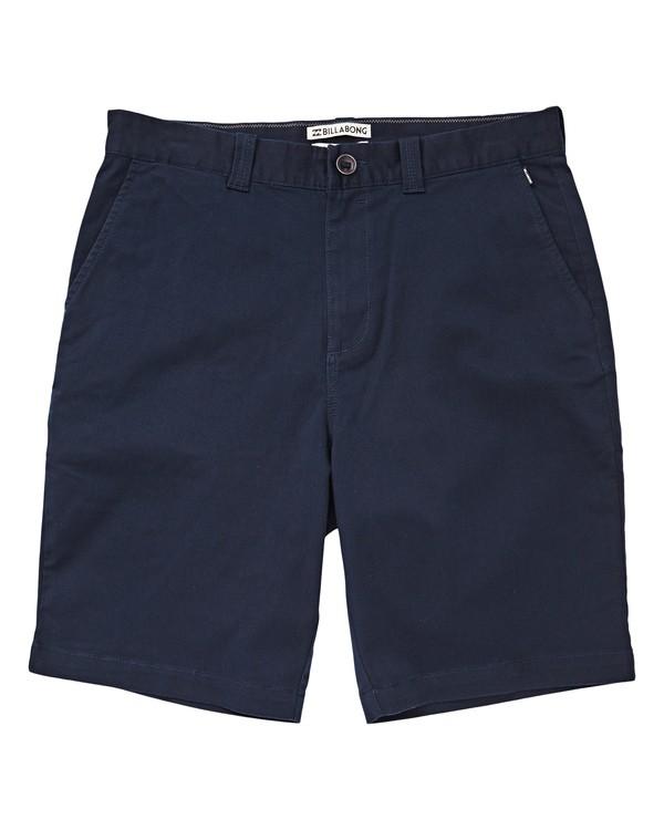 0 Carter Stretch Shorts Blue M236TBCS Billabong