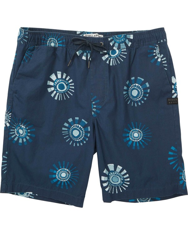 0 Larry Layback Sunday Shorts Purple M239NBLS Billabong