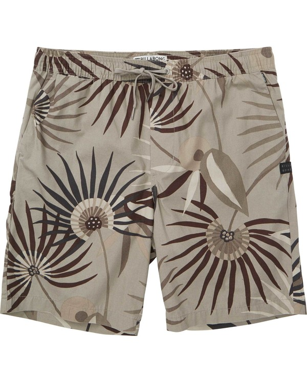 0 Larry Layback Sunday Shorts Green M239NBLS Billabong