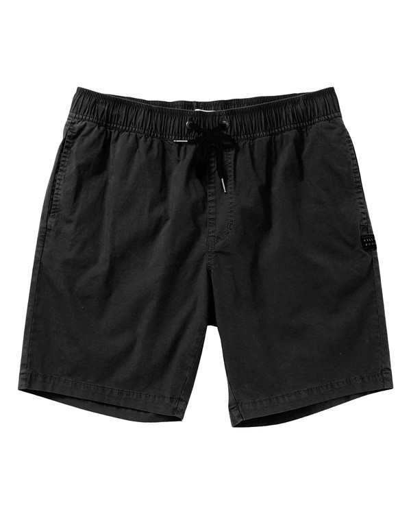 0 Larry Layback Shorts Black M239TBLL Billabong