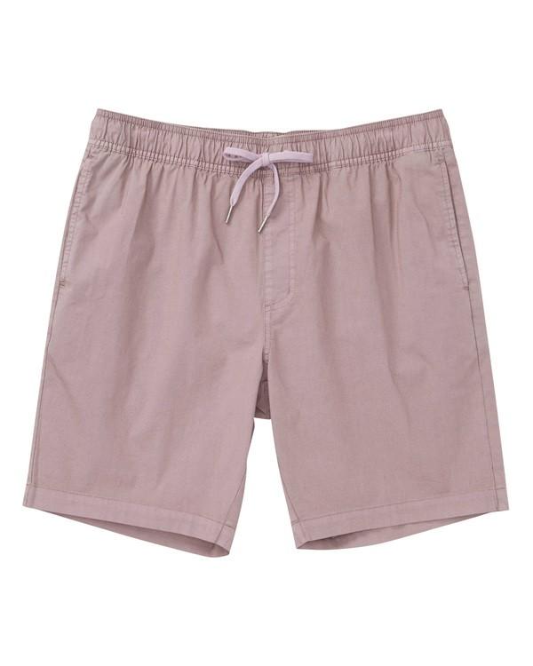 0 Larry Layback Shorts Purple M239TBLL Billabong