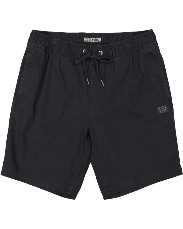 0 LARRY STRETCH ELASTI Black M244QBLS Billabong