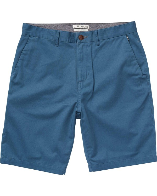 0 Carter Stretch Short Blue M250GCAS Billabong