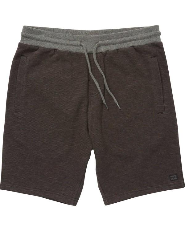 0 Balance Shorts Black M250QBBS Billabong