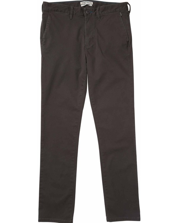 0 New Order Chino Pant Grey M305LNOC Billabong