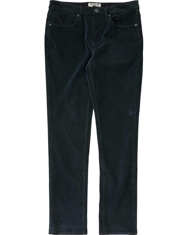 0 Outsider Cord Pant Grey M306LOUC Billabong