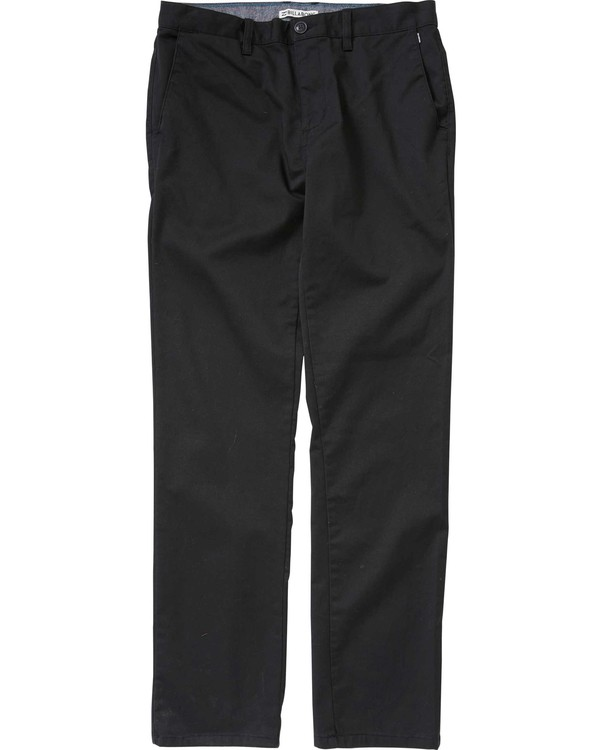 0 Carter Chino Pant Black M309LCCH Billabong