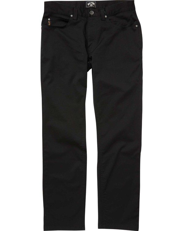 0 FIFTY PANT Black M310QBFT Billabong