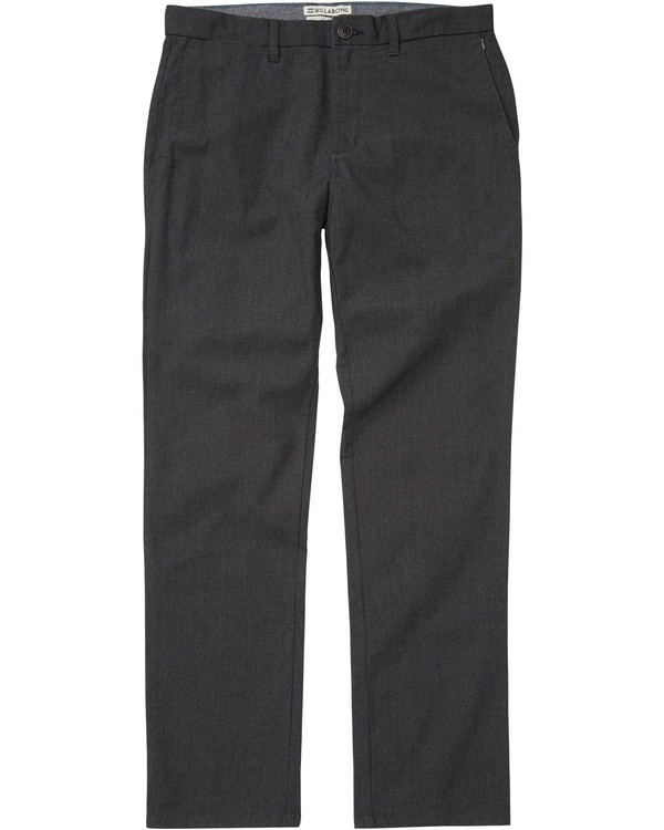 0 Carter Stretch Chino Pant Black M311LCAS Billabong