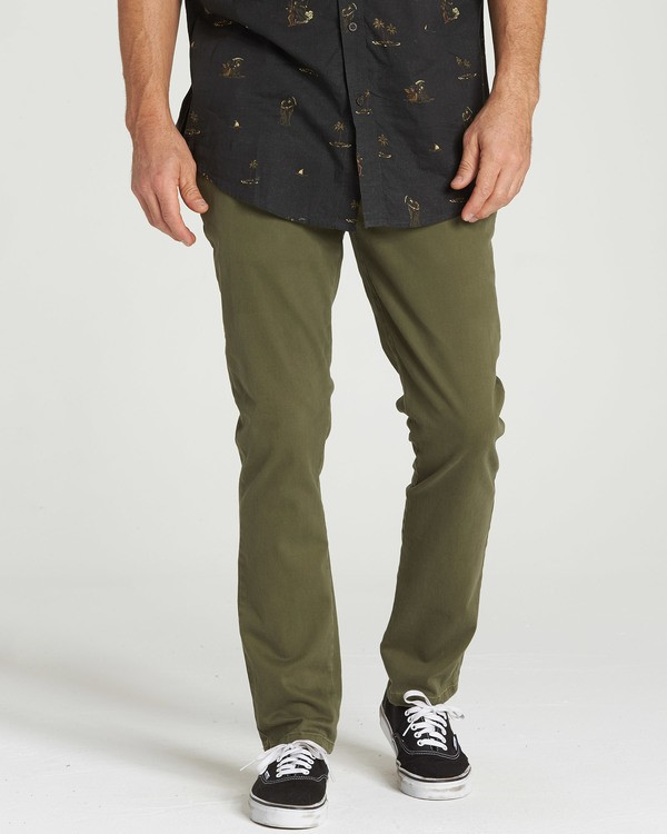 0 New Order Chino Pant Camo M315QBNO Billabong