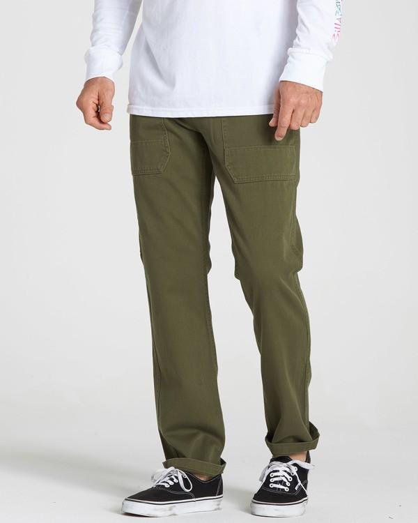 0 Collins Pant Green M317QBCO Billabong