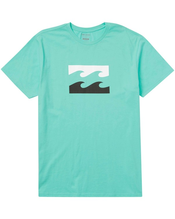 0 Wave Tee Green M401JWAV Billabong