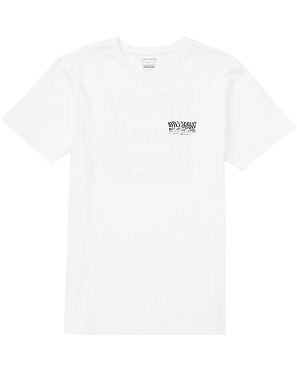0 Thrash Tee White M401NBTH Billabong