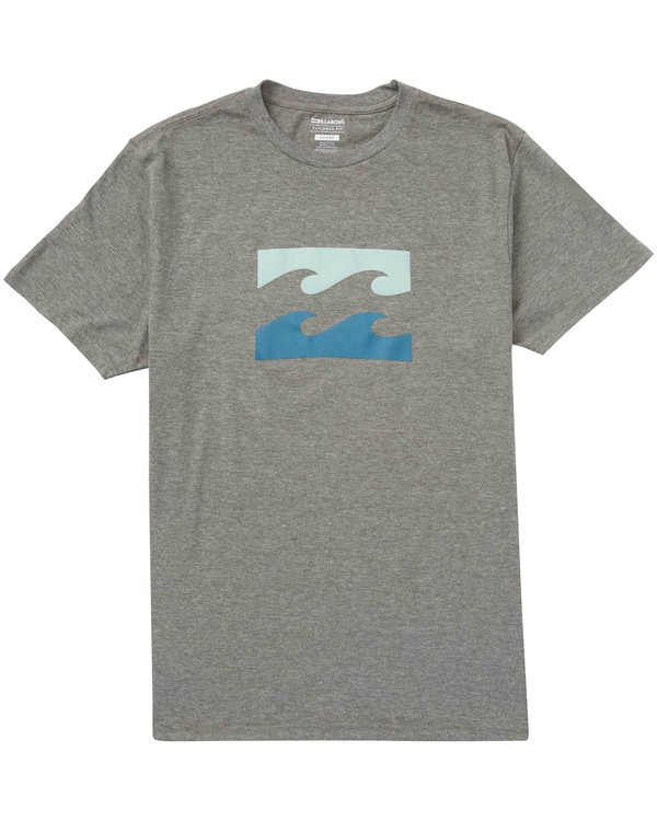 0 Wave Tee Grey M401NBWA Billabong