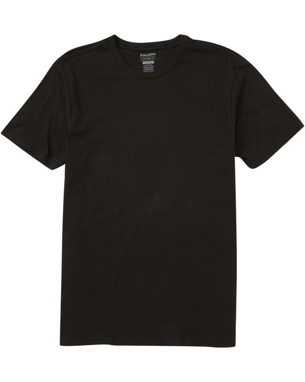 0 Essential Tee Black M401NESS Billabong