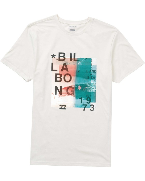 0 Salty Tee Brown M401PBSY Billabong
