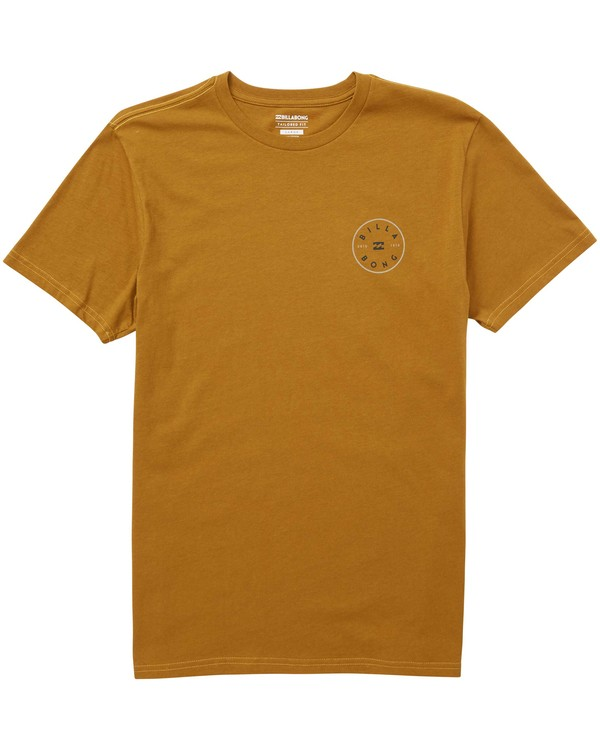 0 Rotor Tee Yellow M401QBRO Billabong