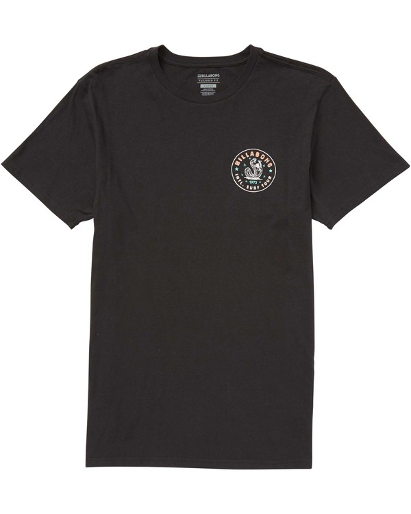 0 Tour Tee Black M401QBTO Billabong