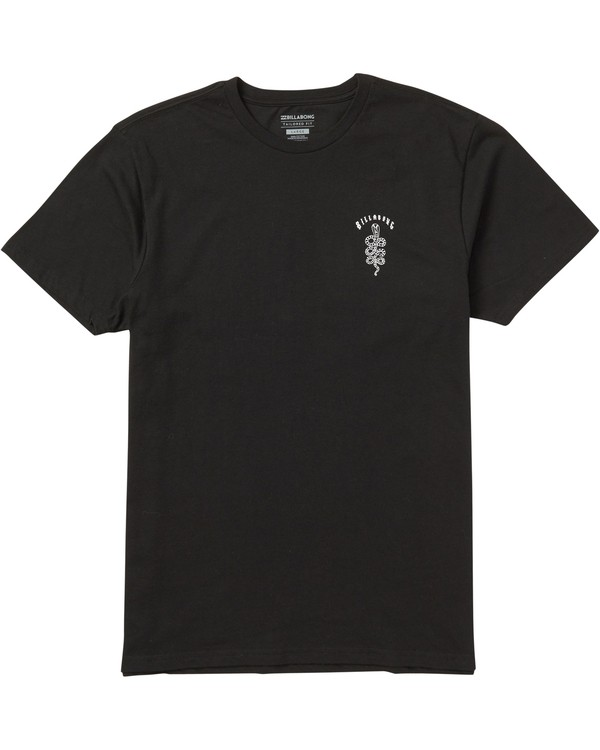 0 Cobra Tee Shirt Black M401SBCO Billabong
