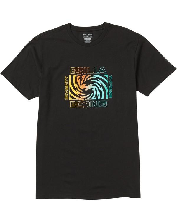 0 Psycho Tee Shirt Black M401SBPS Billabong
