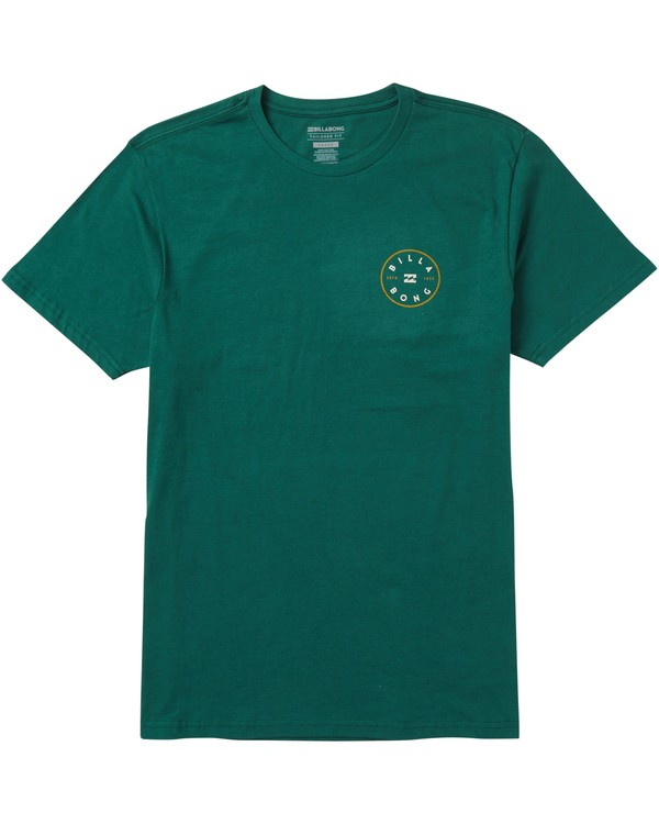 0 Rotor Tee Shirt Green M401SBRO Billabong
