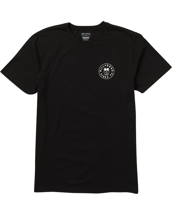 0 Tendencies Tee Shirt Black M401SBTE Billabong