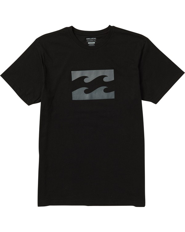 0 Wave Tee Shirt Black M401SBWA Billabong