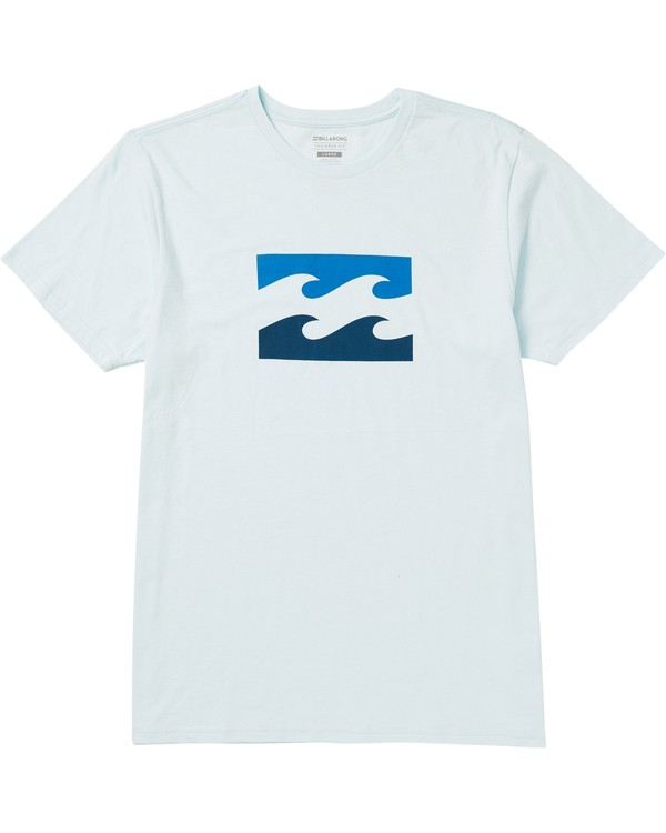 0 Wave Tee Shirt Blue M401SBWA Billabong