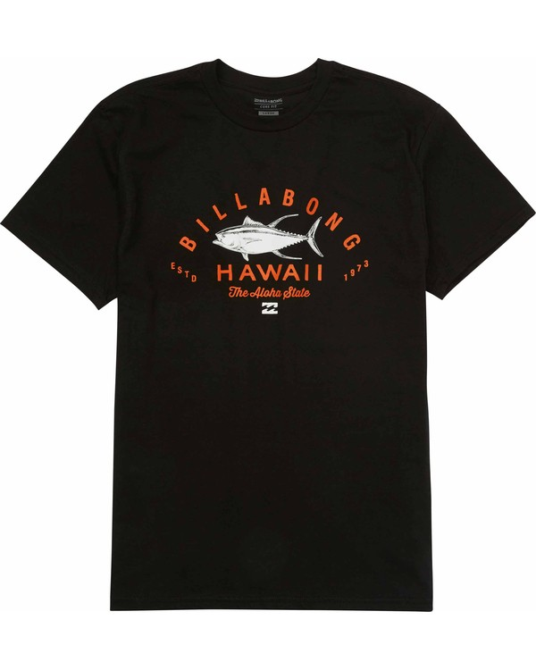 0 Tuner Hawaii Tee Black M404LTHI Billabong