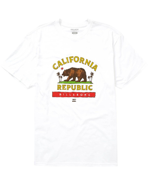 0 Cali Bear Tee  M404NBCB Billabong