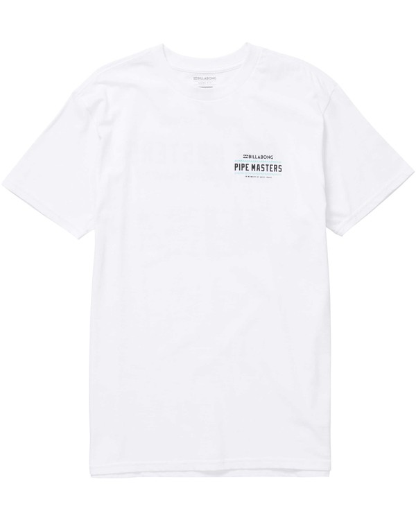 0 Pipe Poster Tee White M404NBPP Billabong