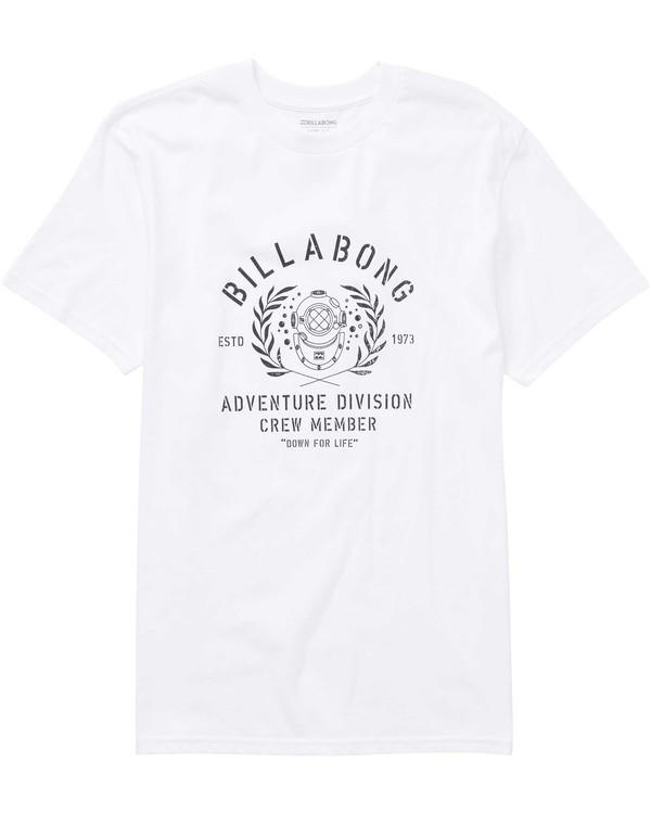 0 Diver Tee White M404PBDI Billabong