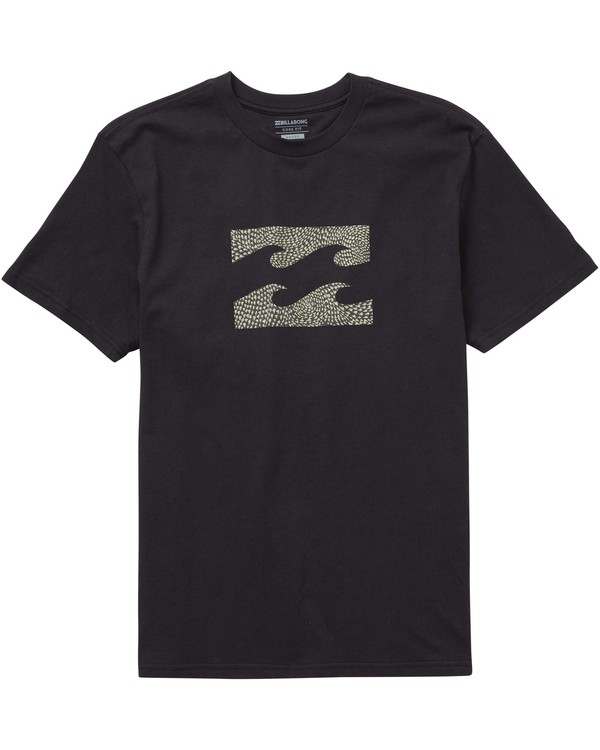 0 Team Wave Tee Black M404PBTE Billabong