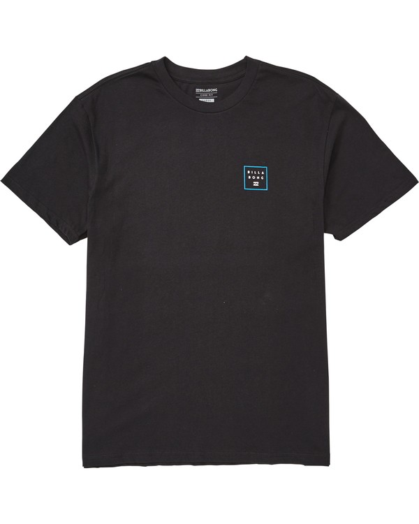 0 Stacked Fade Tee Black M404QBSF Billabong