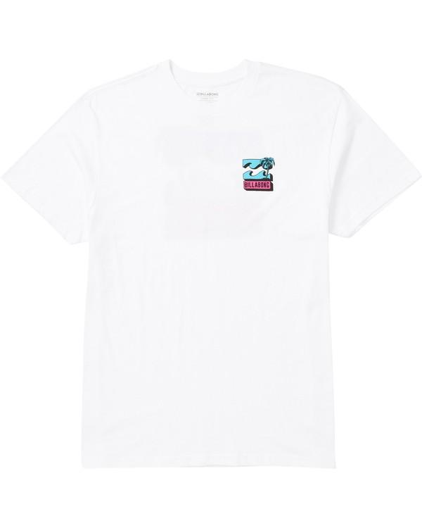 0 Bbtv Tee Shirt White M404SBBB Billabong