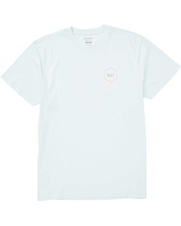 0 Access Border Tee Blue M404TBAB Billabong