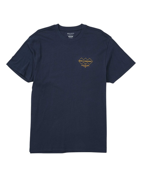 0 Stereophonic Tee Blue M404TBSE Billabong