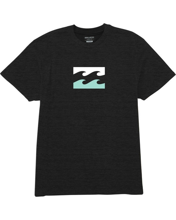 0 Team Wave Tee Black M404TBTE Billabong