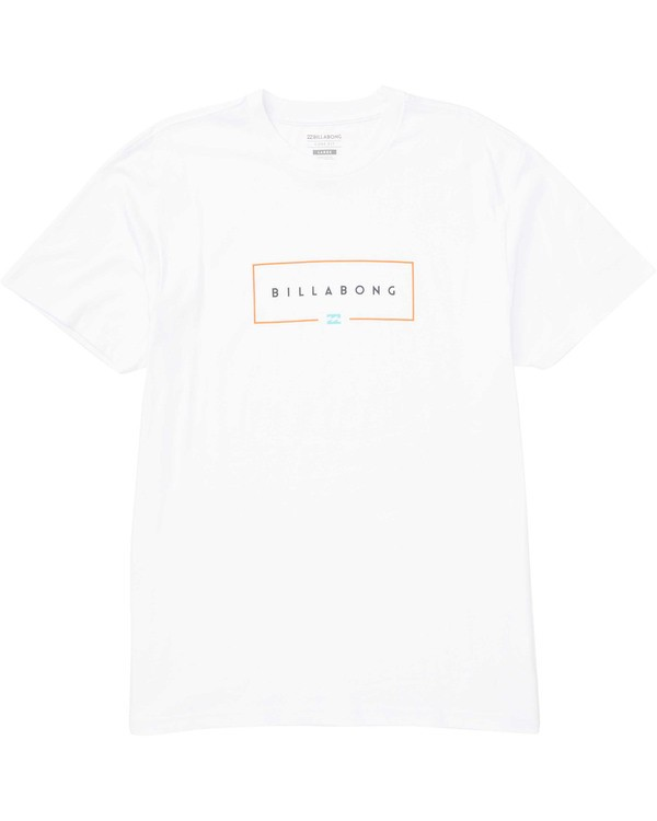 0 Union Tee White M404TBUN Billabong