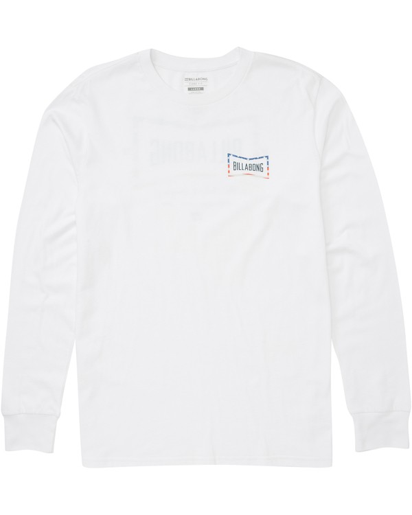 0 Cruz Long Sleeve Tee White M405PBCR Billabong