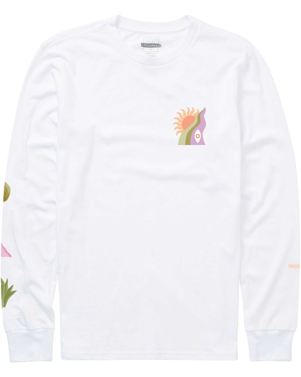 0 Wandering Eye Long Sleeve Tee  M405PBWE Billabong